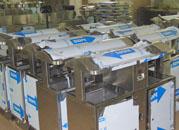 不锈钢垃圾桶批量生产成品图展示
