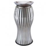 鼓形不锈钢烟灰桶