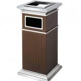 酒店不锈钢罗马柱垃圾桶
