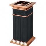 酒店罗马柱烟灰垃圾桶