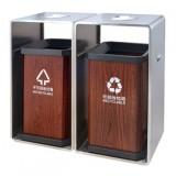 环卫分类不锈钢垃圾桶