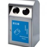 不锈钢户外单桶垃圾桶