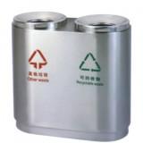 不锈钢室内分类垃圾桶