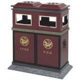 古典分类钢制垃圾箱