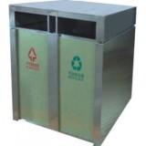 火车站环保钢制垃圾箱