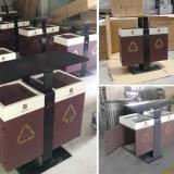 惠州惠城区小区订购新款钢制分类垃圾桶