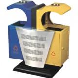 欧式环保钢制垃圾桶