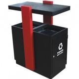 校园分类钢制垃圾箱