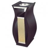 钛金花瓶座地烟灰桶