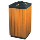 钢木烟灰缸垃圾桶
