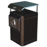 独立烟灰缸钢木垃圾桶