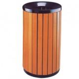 住宅小区钢木垃圾桶