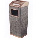 商场电梯钛金垃圾桶