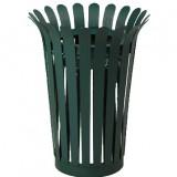 定制型花篮钢制垃圾桶