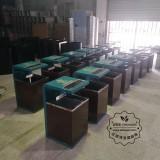冷轧钢户外分类钢制垃圾桶生产厂家