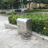 户外不锈钢垃圾桶具体参数
