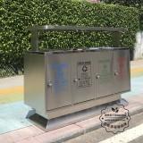 不锈钢有害垃圾桶是什么颜色