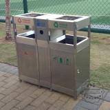 专业环卫不锈钢垃圾箱生产厂家
