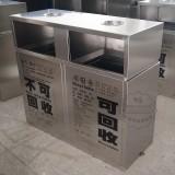 浙江金华物业小区不锈钢垃圾桶采购