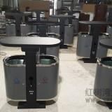 东莞市新马小区环保分类钢制垃圾箱定做