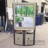 红树湾不锈钢分类广告果皮箱垃圾桶生产厂家