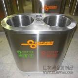 户外不锈钢分类垃圾桶的价格