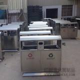 旅游景区不锈钢分类垃圾桶摆放推荐位置