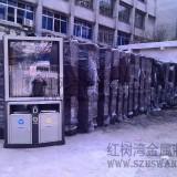 广州不锈钢广告垃圾箱大批量供应