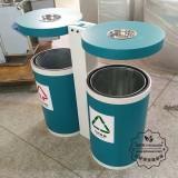 梅州户外街道分类不锈钢垃圾桶定制