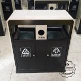 北京石景山街道分类不锈钢垃圾回收箱采购