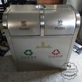 南昌景区室内分类不锈钢垃圾箱采购案例