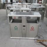 户外不锈钢垃圾桶的安装方式