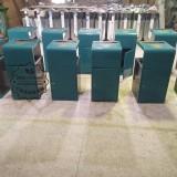 郑州酒店喷塑室内方形不锈钢垃圾桶案例