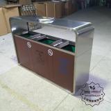 304#不锈钢垃圾箱的优点
