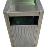 喷塑电梯口室内方形不锈钢果皮箱
