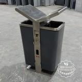 什么样的不锈钢垃圾桶不易生锈?