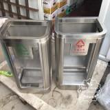 山东济南地铁站防爆不锈钢垃圾桶采购