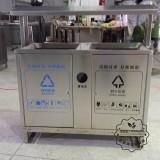 湖北武汉不锈钢垃圾桶但很容易被偷