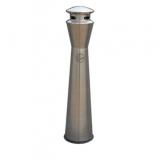 室内圆柱形立式不锈钢烟灰桶