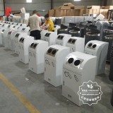 分类垃圾桶需要多少不锈钢来制作?