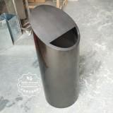 不锈钢金属垃圾桶成本较高