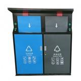户外智能钢制分类垃圾桶定制