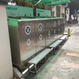 不锈钢分类垃圾亭生产厂家