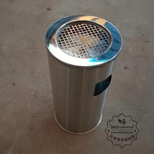 菊花格座地烟灰桶图片001
