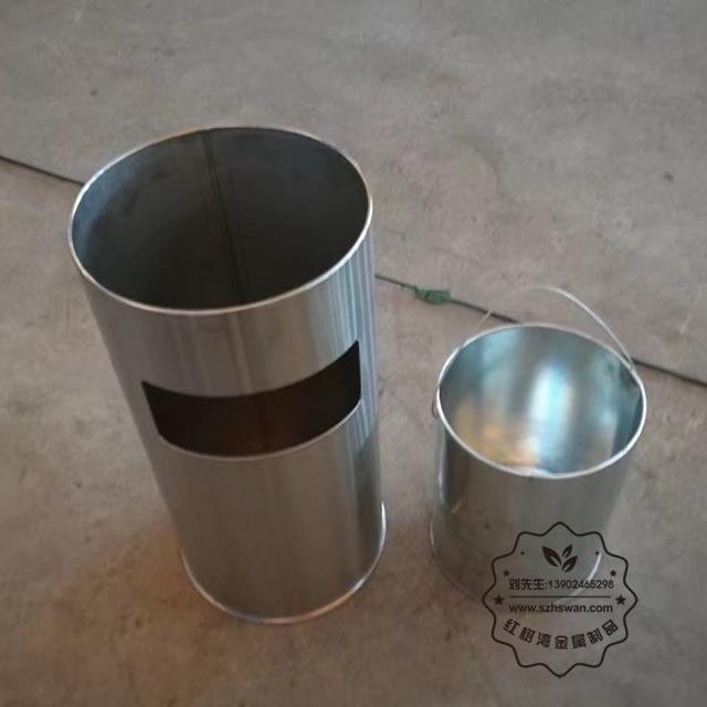 菊花格座地烟灰桶图片003