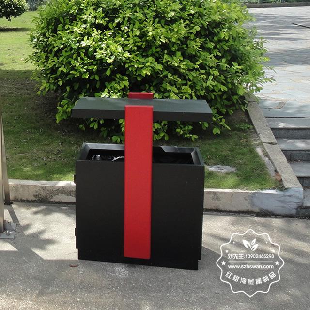 校园分类钢制垃圾箱图片2