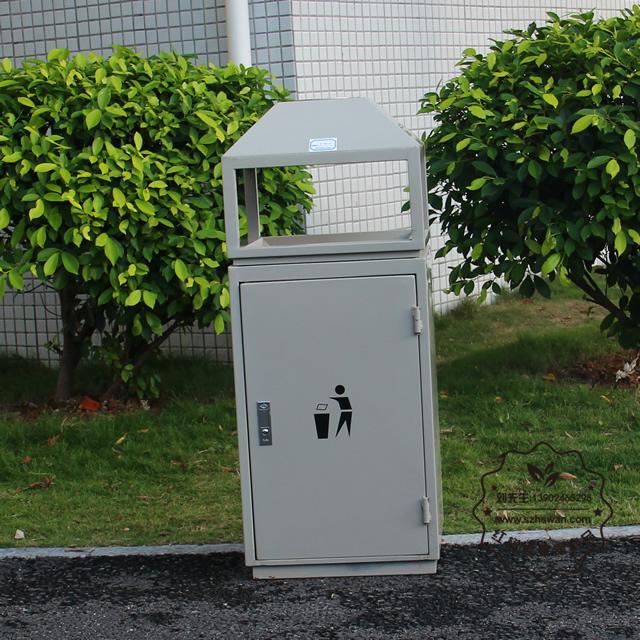 农村垃圾箱图片008