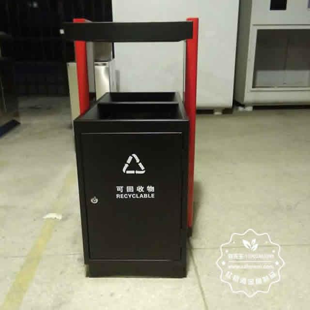 校园分类钢制垃圾箱图片4