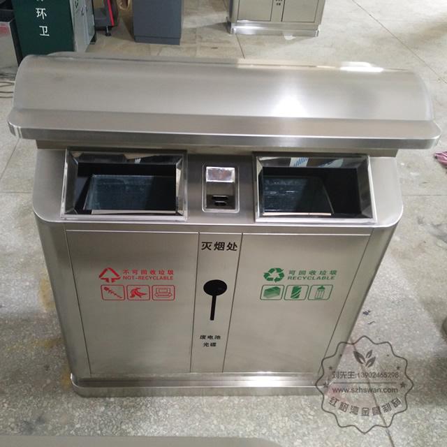 广东不锈钢垃圾桶图片010