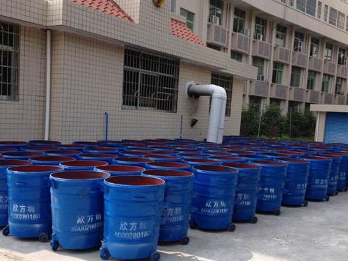 韶关曲江环卫钢制垃圾桶专业生产商